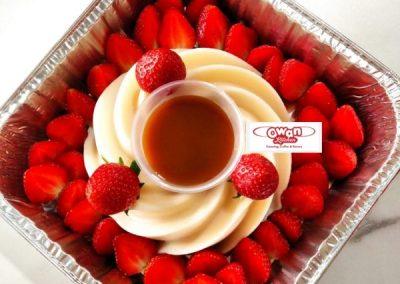 Creamy Vanilla Pudding With Salted Caramel 125,000