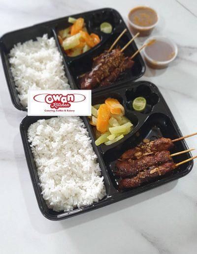 Ricebox Sate Ayam Owan
